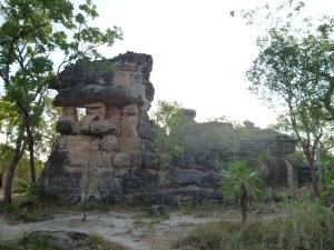 Rock Outcrops Near Ubirr